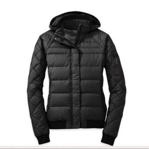 Outdoor Research Bomber Style Down Jacket